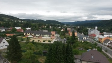 Obec v létě