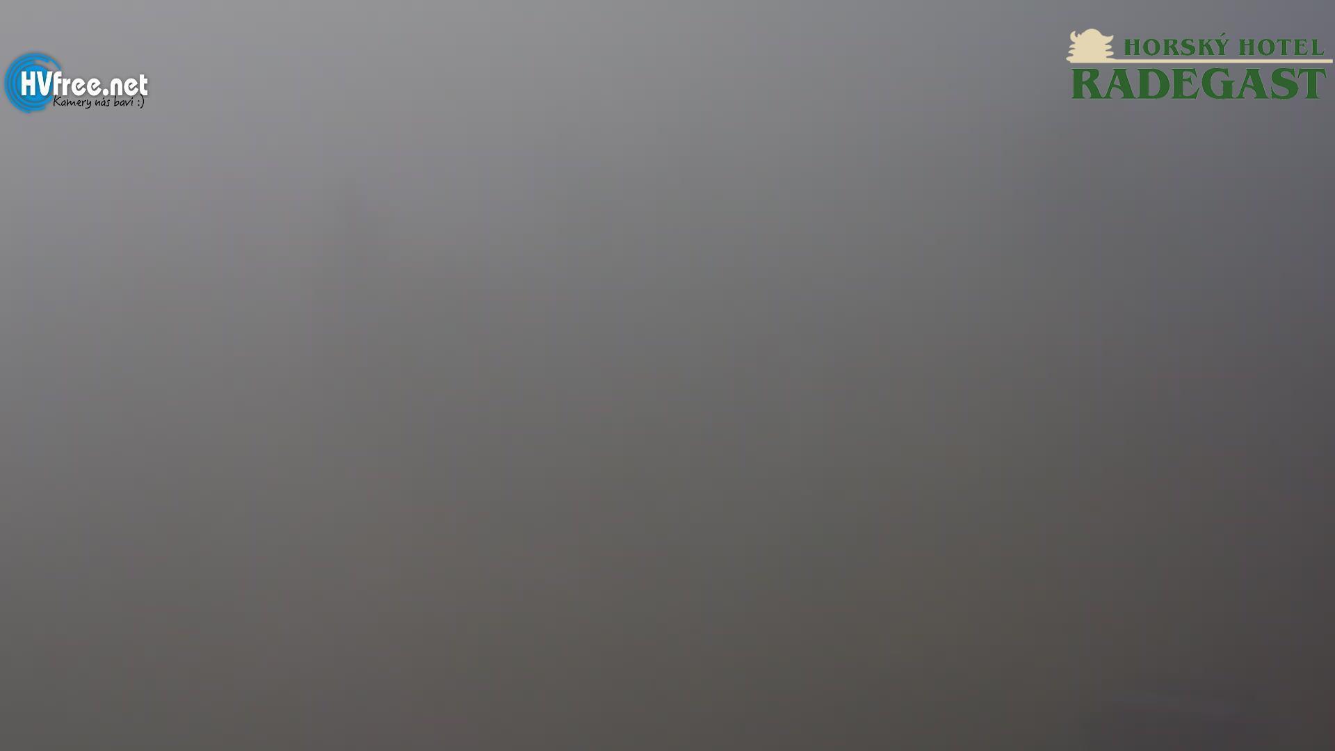 Náhled webkamery Radhošť směr kaple